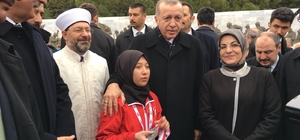 Cumhurbaşkanı Erdoğan, Erzincanlı dünya ikincisi sporcuyu tebrik etti