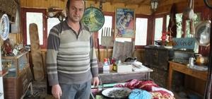 Eski eşyalar Burhaniyeli çiftçiye geçim kaynağı oldu