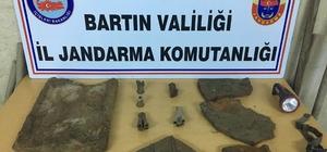 Bartın'da kaçak kazıya 4 gözaltı