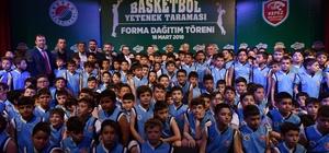 Geleceğin basketbolcularına teşvik
