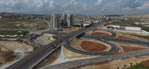 Yeşilvadi Köprülü Kavşağı Trafiğe Açıldı