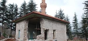 Osmanlı'nın ilk hutbesinin okunduğu camide göçük