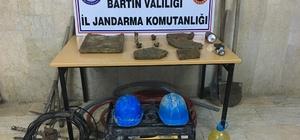 artın'da kaçak kazı yapan 4 kişi suçüstü yakalandı