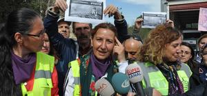 Çanakkale'den Ankara'ya yürüyen 3 kadın İnegöl'e ulaştı