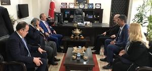 Başkan Kafaoğlu Burhaniye'de