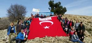 KADOY'dan Çanakkale Şehitleri için yürüyüş
