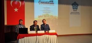 NEÜ'de 'Bir Destandır Çanakkale' paneli düzenlendi