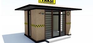Van'daki taksi durakları yenilenecek