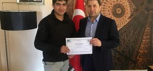Siirt'te girişimcilere belgeleri verildi