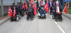 Engeliler, Mehmetçik olmak için gönüllü oldu