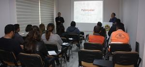 Alanya'da palmiye böceğiyle mücadele eğitimi