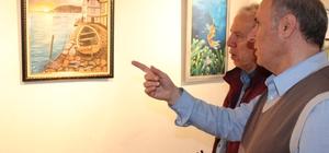 8 Ressamın ortak 'Karma Resmi Sergisi' açıldı