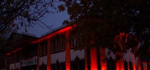 Tunceli Cemevi ve Mameki Köprüsü aydınlatıldı