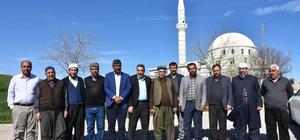 Başkan Erdoğan Kahta ilçesinde ve köylerde incelemelerde bulundu