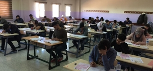 Harran Üniversitesinde Yabancı Uyruklu Öğrenci Seçme Sınavı yapıldı