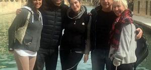 Ünlü oyuncu Michelle Rodriguez'in Şanlıurfa gezisi