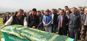 Aynı tabuta konulan anne ve oğlunun cenazeleri defnedildi
