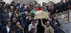 MHP eski ilçe başkanının kazada ölen eşi toprağa verildi