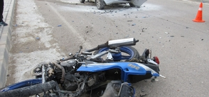 Kahta'da otomobil ile motosiklet çarpıştı: 2 ölü, 1 yaralı
