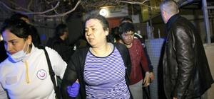 Engelli kardeşlerin evinde çıkan yangında 6 kişi dumandan etkilendi