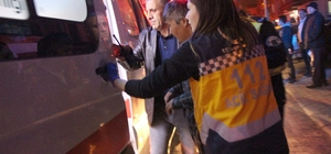 Yangın dumanından etkilenen 4 kişi hastaneye kaldırıldı