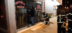 Adana'da eczane deposu kundaklandı