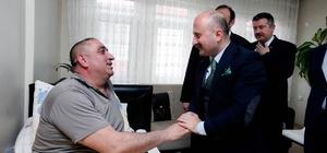 Vali Varol Merzifon'da temaslarda bulundu