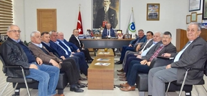 Başkan Albayrak Ziraat Odaları başkanları ile bir araya geldi