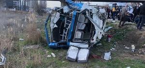 Ankara'da trafik kazası: 14 yaralı