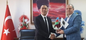 ASİMDER'den Daire Başkanı Dr. Başaran'a ziyaret