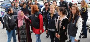 Alanya'da terör operasyonu: 11 gözaltı