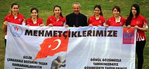 Görme Engelliler Goalball Kadınlar A-Milli Takımı Tokat'ta kampa girdi
