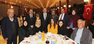 Kaymakam Güler ve Başkan Köşker şehit aileleriyle bir araya geldi