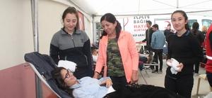 Mehmetçiğe kan bağışı desteği