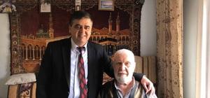 Başkan Yalçın'dan yaşlılara ziyaret
