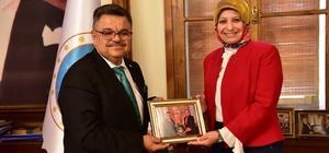 İl Müdürü Durmuş'tan Başkan Yağcı'ya veda ziyareti