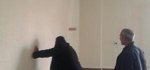 Çaldıran'daki camilerde bahar temizliği