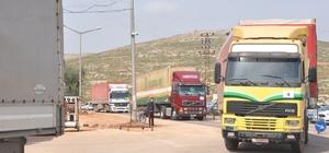 BM'den Suriye'ye 21 tırlık insani yardım
