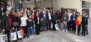 İtalyan öğrenciler İzmir'de
