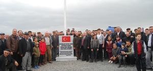 Dev Türk bayrağını göndere çektiler