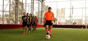 AOSB Futbol Turnuvası'nda 4. hafta maçları tamamlandı