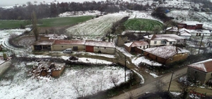 Mart'ta yağan kar sevinci kısa sürdü