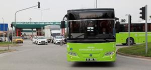 Kozan, İmamoğlu ve Ceyhan'dan hava limanına toplu taşıma hizmeti