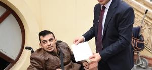 Engelli öğrencilerden Afrin'e en anlamlı bağış