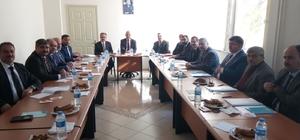 Vali Güvençer 'Müftüler Toplantısı'na katıldı