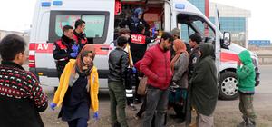 """Zorlu """"umuda yolculuk"""" Erzurum'da son buldu"""