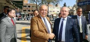 Başkan Yardımcısı Özyolcu belediyenin çalışmalarını inceledi