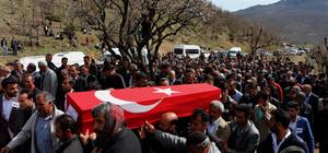 Diyarbakır'da gönüllü köy korucusunun şehit edilmesi