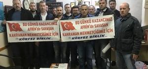1 günlük kazançlarını Afrin'deki Mehmetçiklere bağışladılar