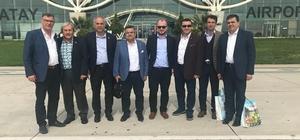Belediye başkanları Hatay'da